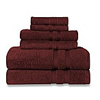 Wamsutta® Ultra Soft 6-Piece Bath Towel Set in Garnet
