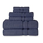 Wamsutta® Ultra Soft 6-Piece Bath Towel Set in Denim Blue