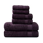 Wamsutta® 6-Piece Hygro® Duet Bath Towel Set in Iris