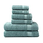 Wamsutta® 6-Piece Hygro® Duet Bath Towel Set in Sea