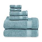 Wamsutta® 6-Piece Hygro® Duet Bath Towel Set in Cameo Blue