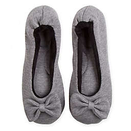 Therapedic® Women's Small Ballet Slipper in Grey
