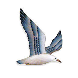 Hand-Carved Flying Seagull
