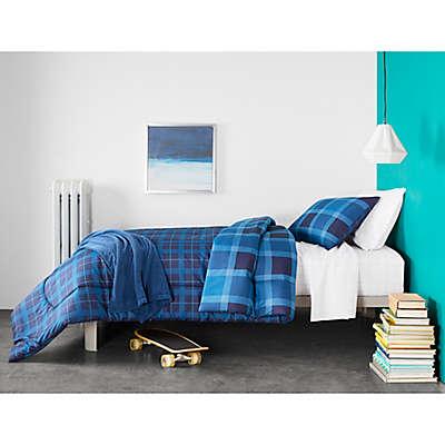Cool Blue Hues Bedroom
