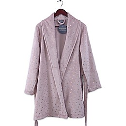 Berkshire VelvetLoft® Robe with Metallic Stars in Rose