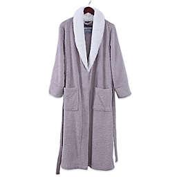 Berkshire PrimaLush Robe with Grace Fur Collar in Pearl