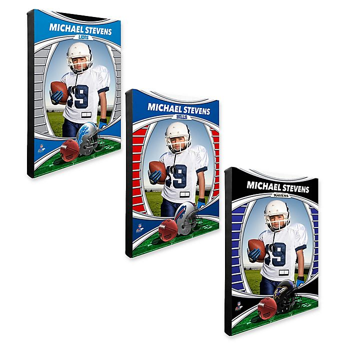 Alternate image 1 for NFL I Am the Star Player Canvas Wall Décor Collection