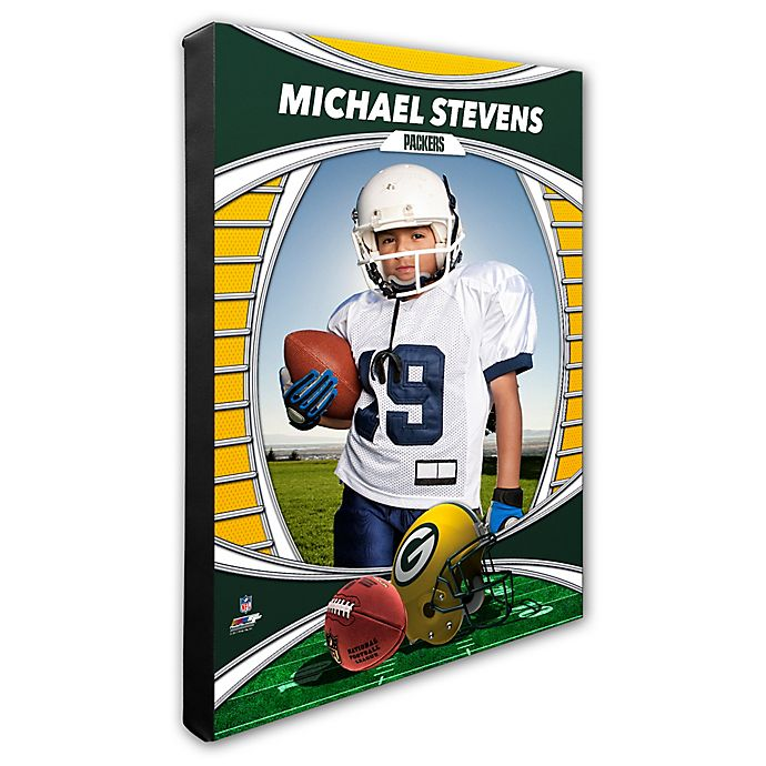 Alternate image 1 for NFL Green Bay Packers I Am the Star Player Canvas Wall Décor