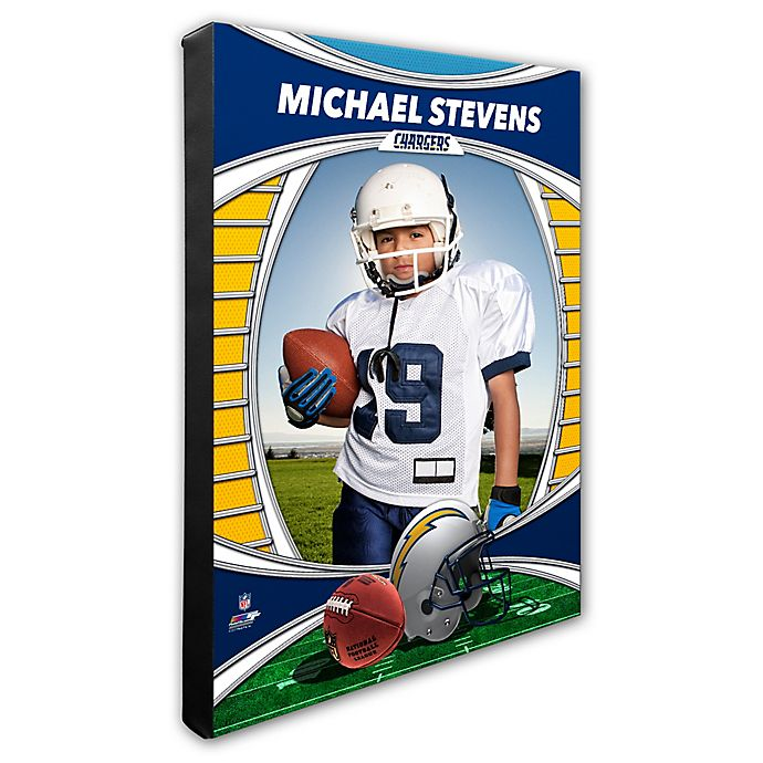 Alternate image 1 for NFL Los Angeles Chargers I Am the Star Player Canvas Wall Décor