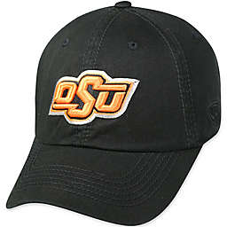 Oklahoma State University Adjustable Embroidered Crew Cap in Black