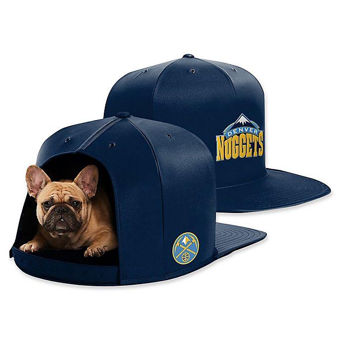 Alternate image 1 for NBA Denver Nuggets NAP CAP Medium Pet Bed
