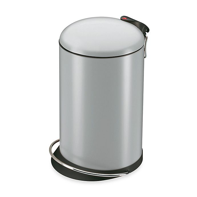 Alternate image 1 for Hailo™ Trento TopDesign Round 16-Liter Step Trash Can
