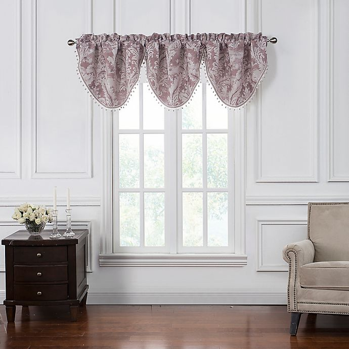 Alternate image 1 for Waterford® Victoria Cascade Window Valance