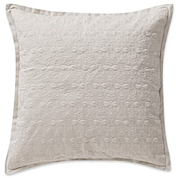 Waterford® Victoria Damask Square Throw Pillow in Orchard