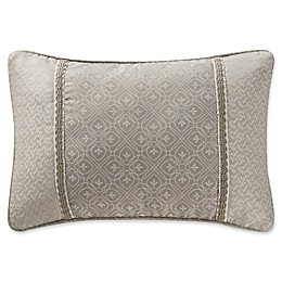Waterford® Victoria Embroidered Oblong Throw Pillow in Orchard