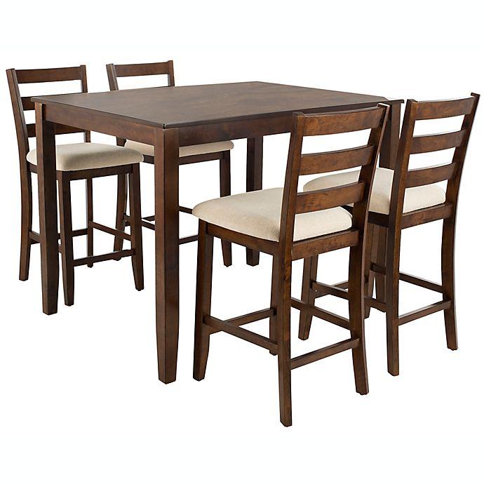 Alternate image 1 for Safavieh Melvin 5-Piece Pub Dining Set