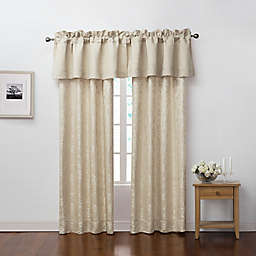 Marquis® by Waterford Emilia 84-Inch Rod Pocket Window Curtain Panel Pair in Cream