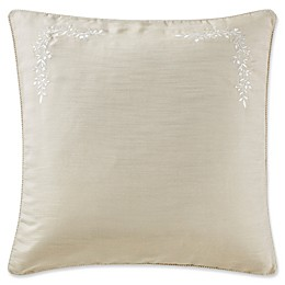 Marquis® by Waterford Emilia European Pillow Sham in Cream