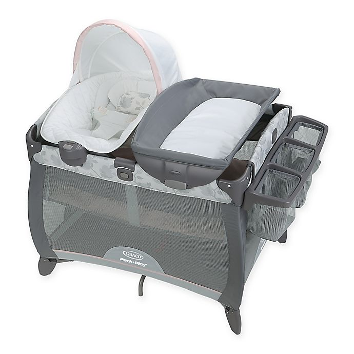 Alternate image 1 for Graco® Pack 'n Play® Quick Connect Portable Napper Deluxe with Bassinet in Diana