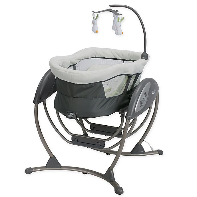 Alternate image 1 for Graco® DreamGlider™ Gliding Seat & Sleeper in Rascal™