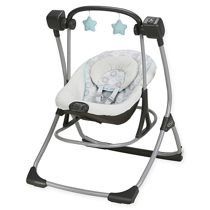 Alternate image 1 for Graco® Cozy Duet™ Swing and Rocker in Tenley™