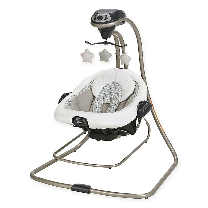 Alternate image 1 for Graco® DuetConnect™ LX Swing + Bouncer in McKinley™