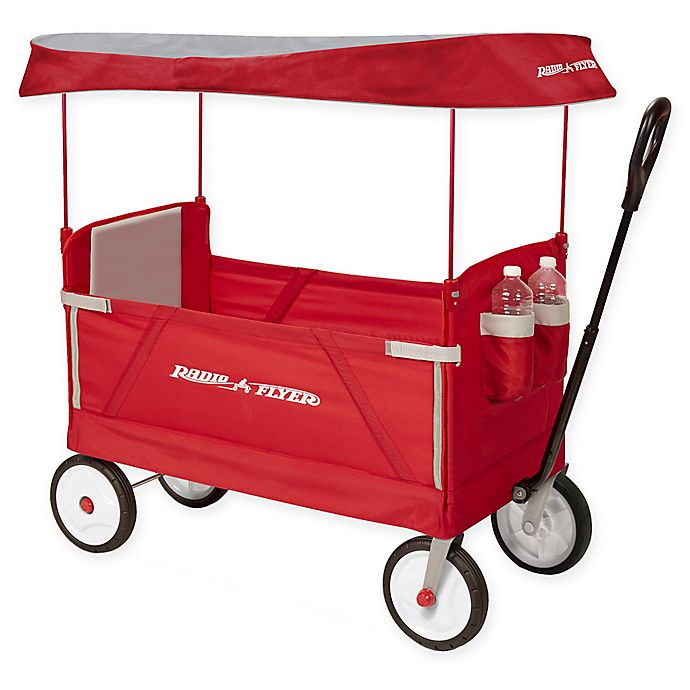 Alternate image 1 for Radio Flyer® 3-in-1 EZ Fold Wagon with Canopy