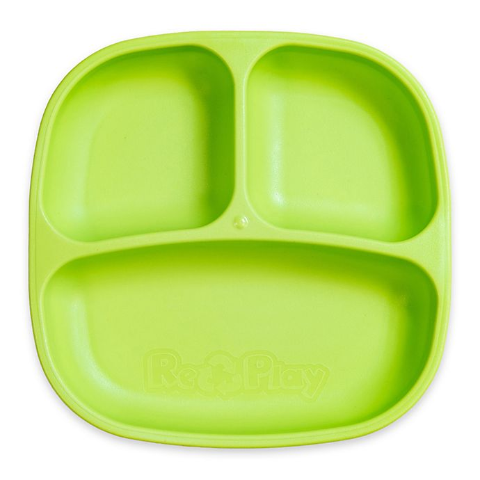 Alternate image 1 for Re-play 7-Inch Toddler Divided Plate