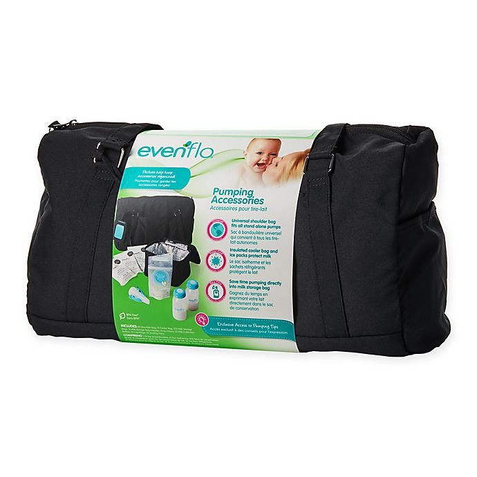 Alternate image 1 for Evenflo® Pumping Accessories Kit with Cooler Bag