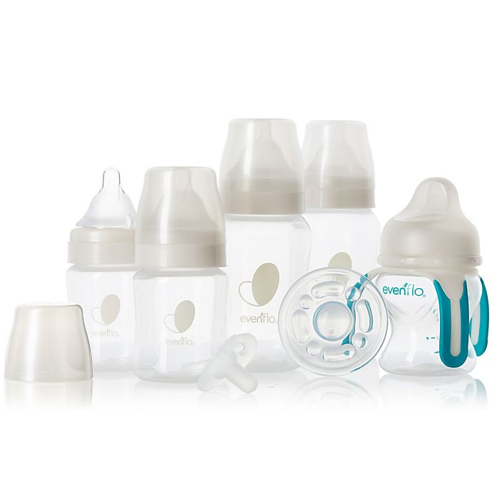 Alternate image 1 for Evenflo Balance + Wide-Neck Bottle Gift Set