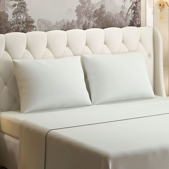 Alternate image 1 for Brielle 630-Thread-Count 100% Cotton Sateen Full Sheet Set in Ivory