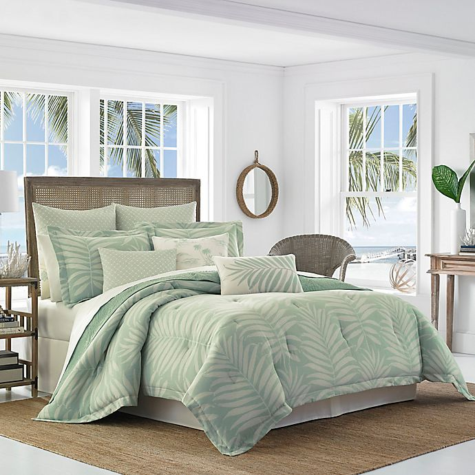 Alternate image 1 for Tommy Bahama® Abacos King Comforter Set in Aqua