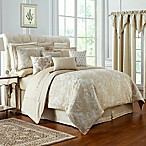 Waterford® Annalise Reversible Queen Comforter Set in Gold