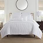 Bridge Street Bianca King Comforter Set in White