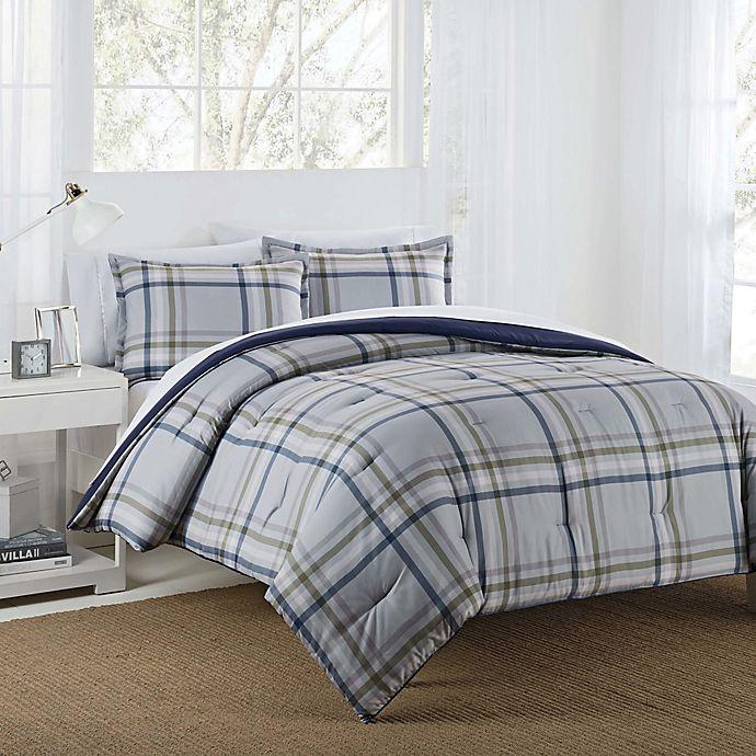 Alternate image 1 for IZOD® Connor Reversible Comforter Set