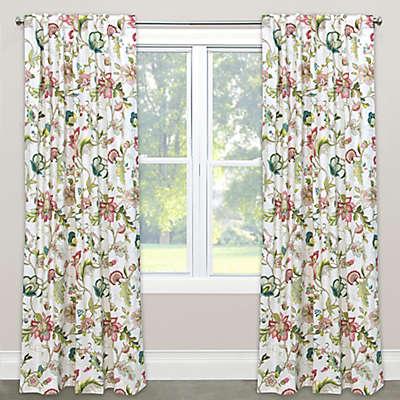 Skyline Furniture Brissac Rod Pocket/Back Tab Window Curtain Panel