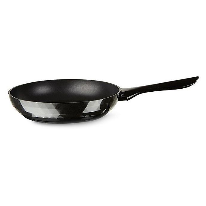 Alternate image 1 for TVS Deco Nonstick 11-Inch Aluminum Fry Pan in Black