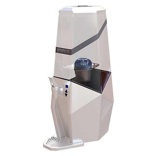 Alternate image 1 for VitaFilta Countertop Water Filter and Cooler in White