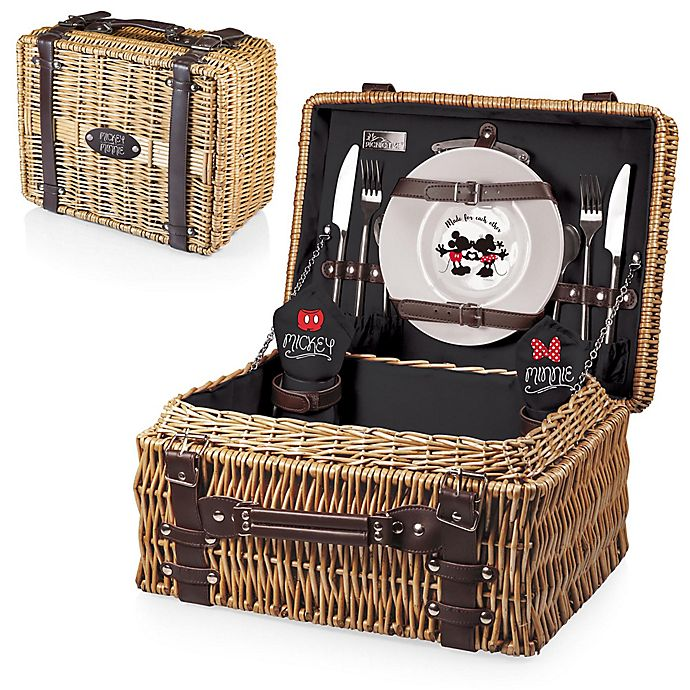 Alternate image 1 for Picnic Time® Mickey & Minnie Mouse Champion Picnic Basket