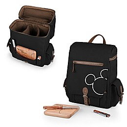 Picnic Time® Mickey Mouse Moreno 3-Bottle Wine & Cheese Tote
