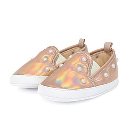 Stepping Stones Pearl Sneaker in Rose Gold
