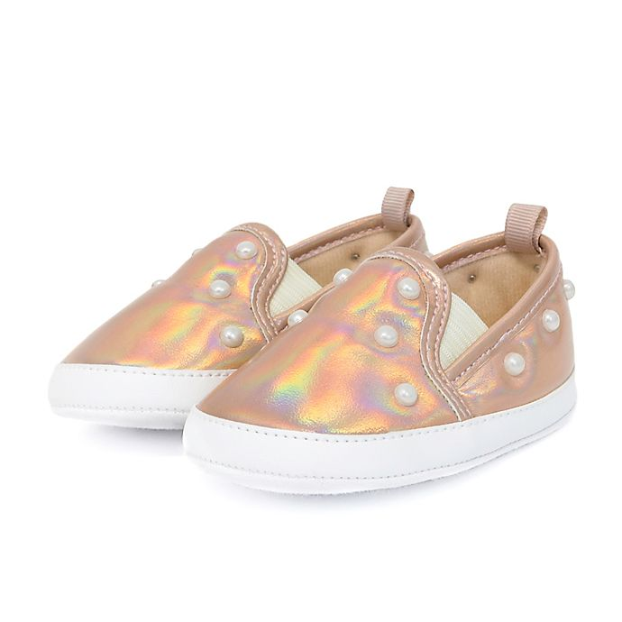 Alternate image 1 for Stepping Stones Pearl Sneaker in Rose Gold