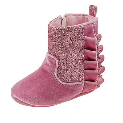 Laura Ashley® Glitter Boot in Pink