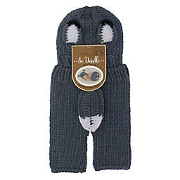 So 'Dorable® 2-Piece Fox Chunky Knit Hat and Pant Set in Blue