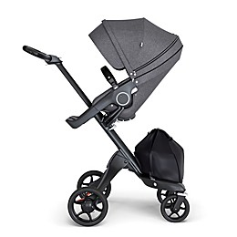Stokke® Xplory® Stroller with Black Frame and Black Handle