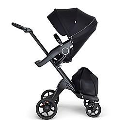 Stokke® Xplory® Stroller with Black Frame and Black Handle
