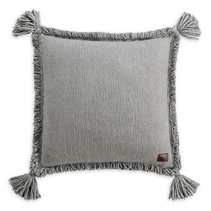 Ugg 174 Pacifica Square Throw Pillow In Grey Bed Bath And Beyond Canada