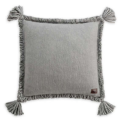 UGG® Pacifica Square Throw Pillow in Grey