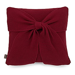 UGG® Ansley Knit Decorative Throw Pillow in Redwood