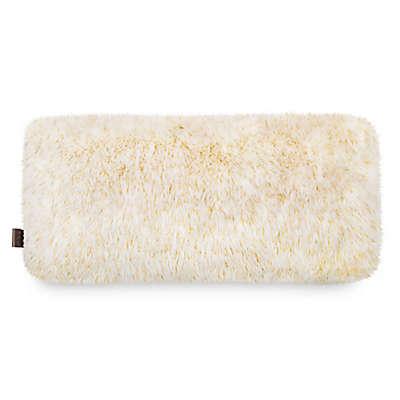 UGG® Hailey Bolster Throw Pillow in Cream/Gold